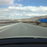 Photo taken at Isparta - Antalya Yolu by Mert K. on 2/14/2013
