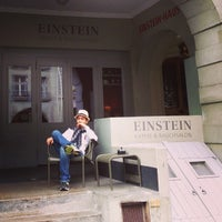 Photo taken at Einstein-Haus by Warich S. on 5/3/2013