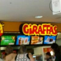 Photo taken at Giraffas by Matheus M. on 11/6/2012