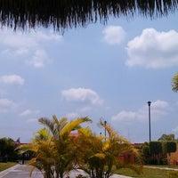 Photo taken at Villas Garza Azul by Sadiel S. on 9/1/2013