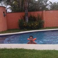 Photo taken at Villas Garza Azul by Sadiel S. on 9/7/2013