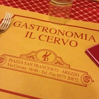 Photo taken at Gastronomia Il Cervo by Marco S. on 4/26/2014