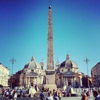 Foto tomada en Piazza del Popolo por Alessandro A. el 8/1/2013
