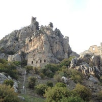 Photo taken at Saint Hilarion Castle by Murat Y. on 11/11/2012