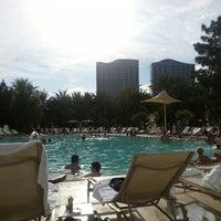 Photo taken at ARIA Pool & Cabanas by Seyit B. on 8/25/2013