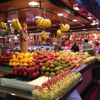 Photo taken at Mercat de Sant Josep - La Boqueria by Petr N. on 7/26/2013