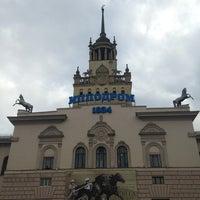 Снимок сделан в Центральный московский ипподром пользователем Serge P. 10/20/2013