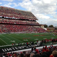 Photo taken at Capital One Field at Maryland Stadium by Ross M. on 10/20/2012