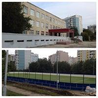 Photo taken at Школа №174 им. И.П. Зорина by Anna G. on 9/24/2013