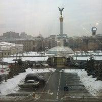 Снимок сделан в Гостиница «Украина» пользователем Tatyana B. 1/31/2013