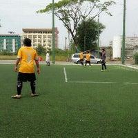Photo taken at สนามฟุตบอล EAZY CLUB  by Nangmarn N. on 2/24/2013