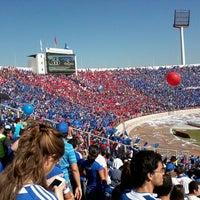 Photo taken at Estadio Nacional Julio Martínez Prádanos by Tomás A. on 5/5/2013