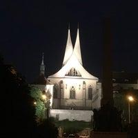 Photo taken at Náměstí pod Emauzy by Angel R. on 6/11/2018
