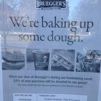 Photo taken at Bruegger's Bagel Bakery by Katelyn H. on 4/9/2014