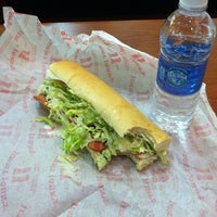 Photo taken at Jimmy John's by Mikey W. on 11/11/2012