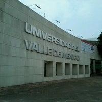 Photo taken at Universidad del Valle de México Campus Coyoacan by  Andrés  M. on 7/25/2013