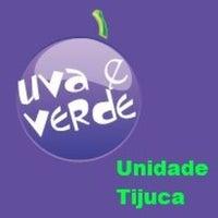 Photo taken at Uva e Verde Tijuca by Débora R. on 7/17/2014
