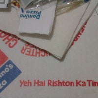 Photo taken at Domino's Pizza by Neetu C. on 1/12/2013