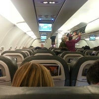 Photo taken at International Departures by Ricardo B. on 1/8/2013