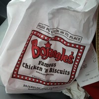 Photo taken at Bojangles' Famous Chicken 'n Biscuits by Christopher G. on 3/11/2013