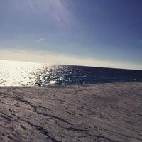 Снимок сделан в Самый южный пляж России пользователем vvv 0. 10/8/2015
