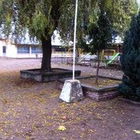Photo taken at Escuela Maria Saavedra by Douglas D. on 5/25/2012