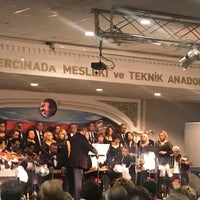 Photo taken at Kusadasi Otelcilik ve Meslek Lisesi Kongre Merkezi by Dilek U. on 2/12/2018