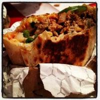 Photo taken at Burrito Boyz by robbyn w. on 10/28/2012