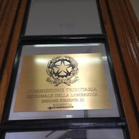 Photo taken at Commissione Tributaria Regionale Lombardia by Marco D. on 2/26/2013