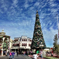 Photo taken at Main Street, U.S.A. by Marlon E. on 12/23/2012