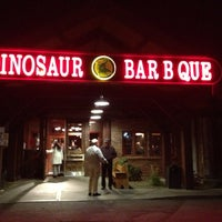 Photo taken at Dinosaur Bar-B-Que by Kari K. on 11/16/2012