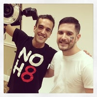 Photo taken at NOH8 Campaign Photoshoot by DJ Ryan T. on 1/30/2014