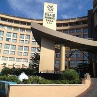 4/9/2013 tarihinde Yasin G.ziyaretçi tarafından Fame Residence Lara & Spa Hotel'de çekilen fotoğraf