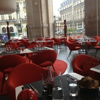 Photo taken at L'Opéra Restaurant by Laura J. on 2/4/2013