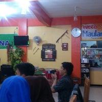 "Photo taken at Resto ""Maulana"" by E121ch A. on 1/24/2014"