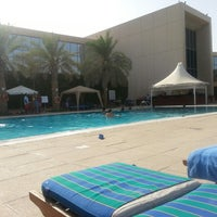 Photo taken at Hilton Kuwait Resort by Dessy I. on 7/4/2013