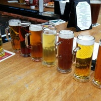 Photo taken at Beach Chalet Brewery & Restaurant by Steve A. on 10/11/2012