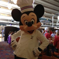 Photo taken at Chef Mickey's by Kendra M. on 12/1/2012