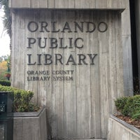 Photo taken at Orange County Library - Orlando Public Library by Ani on 11/16/2012