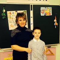 Photo taken at Школа № 1 by Olga on 12/25/2013