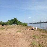 Photo taken at Берег камы. Нудистский пляж. by Frants P. on 5/30/2015