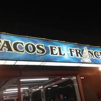 Photo taken at Tacos el Frances by Arita B. on 5/3/2013