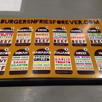 Photo taken at Burgers n' Fries Forever by Myss U. on 10/4/2013