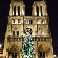 Photo taken at Cathedral of Notre Dame de Paris by Alex R. on 12/11/2013