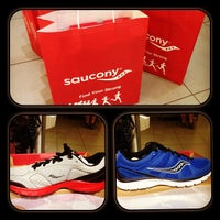 Photo taken at Saucony by Jov Karl T. on 7/15/2013