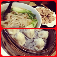 Photo taken at No. 1 Beef Noodle House by Kevin L. on 11/29/2012