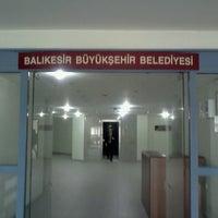 Photo taken at Balıkesir Büyükşehir Belediye Başkanlığı by Elif A. on 4/4/2014