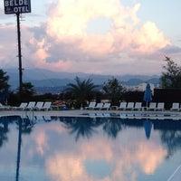 Photo taken at Belde Otel by Pınar on 11/20/2012