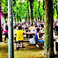 Photo taken at Letná Beer Garden by Radim K. on 7/18/2013