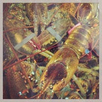 Photo taken at Captain Marden's Seafoods by Berkley on 8/24/2013